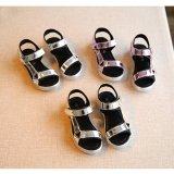 子供 靴 サンダル スポーティ スポサン 【海外ブランド】 メタルカラーサンダル